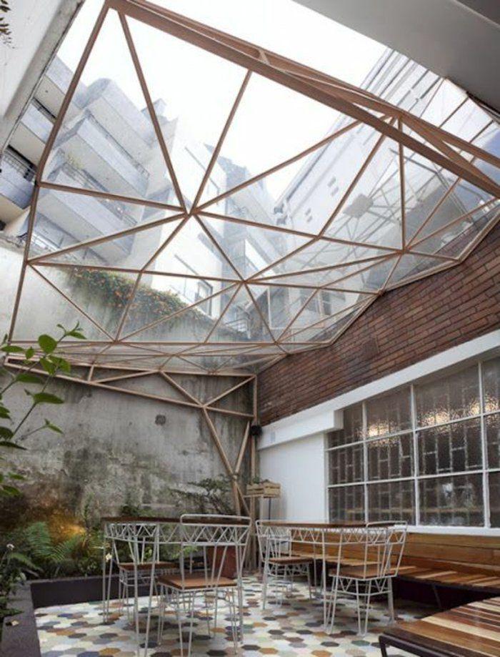 La fenêtre de toit en 65 jolies images - maison avec toit en verre