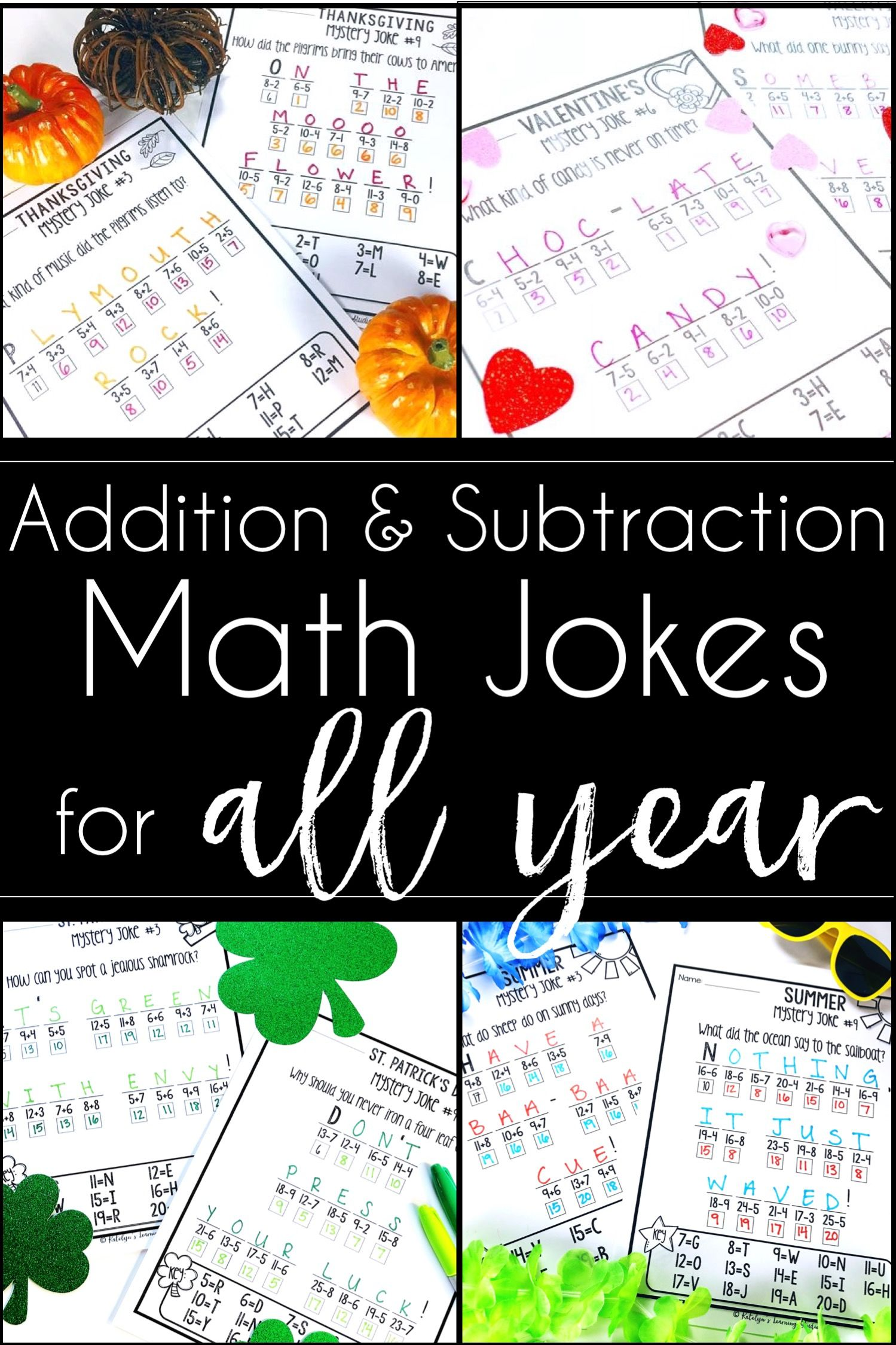 Addition and Subtraction Worksheets Addition and