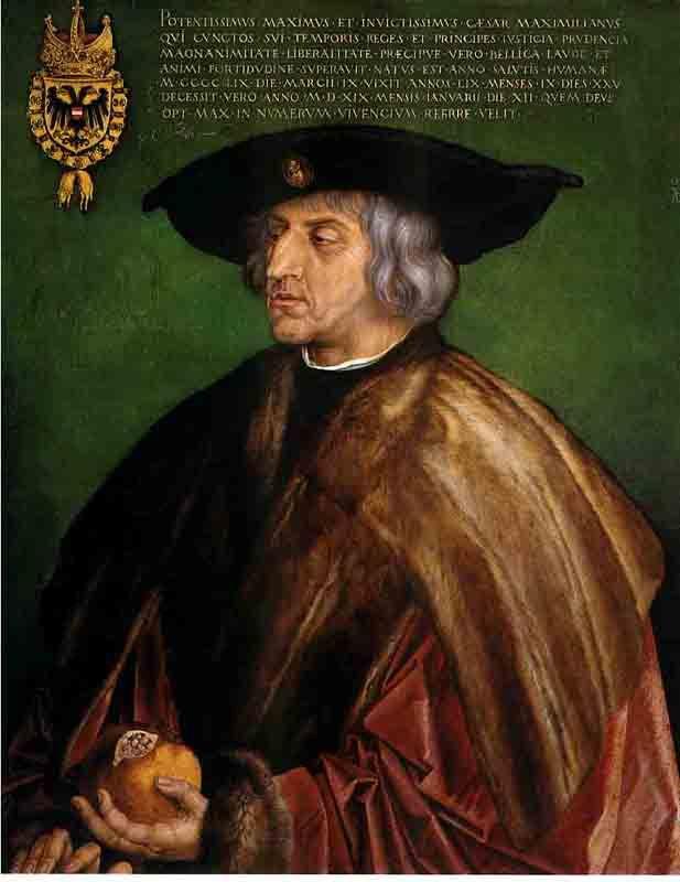 Portrait of Emperor Maximilian, bamberg From en.wahooart.com/