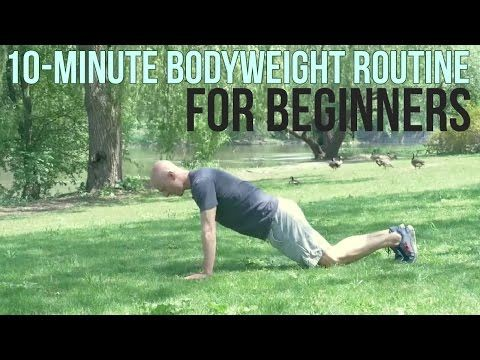 10minute bodyweight workout routine try this