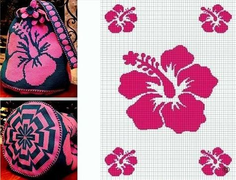 Bolsas Wayuu patrón de ganchillo | m | Pinterest | Häkeln anleitung ...