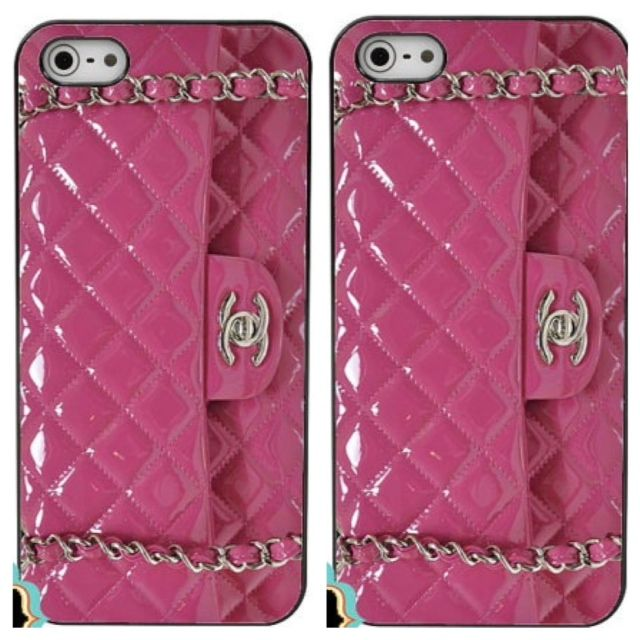 Pink Chanel Bag iphone 5 case