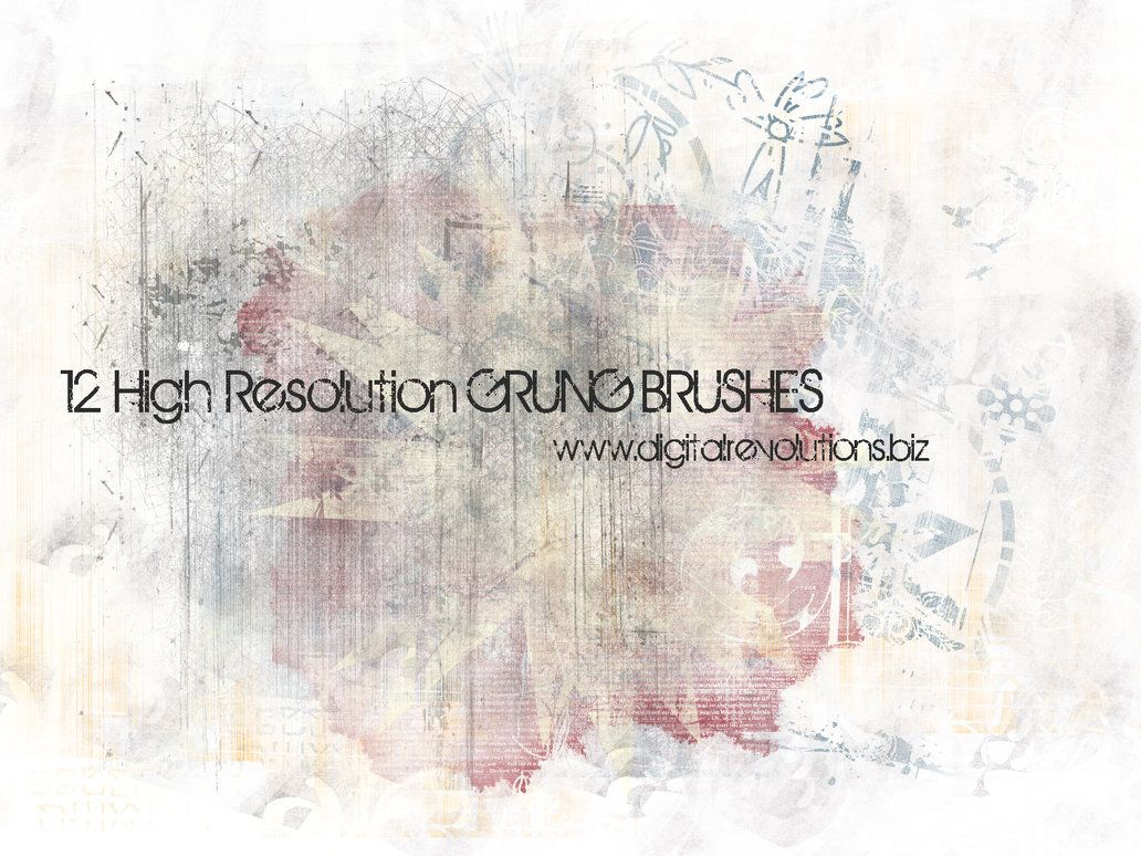 Free Grunge Photoshop Brushes By Digitalrevolutions Feel Free To