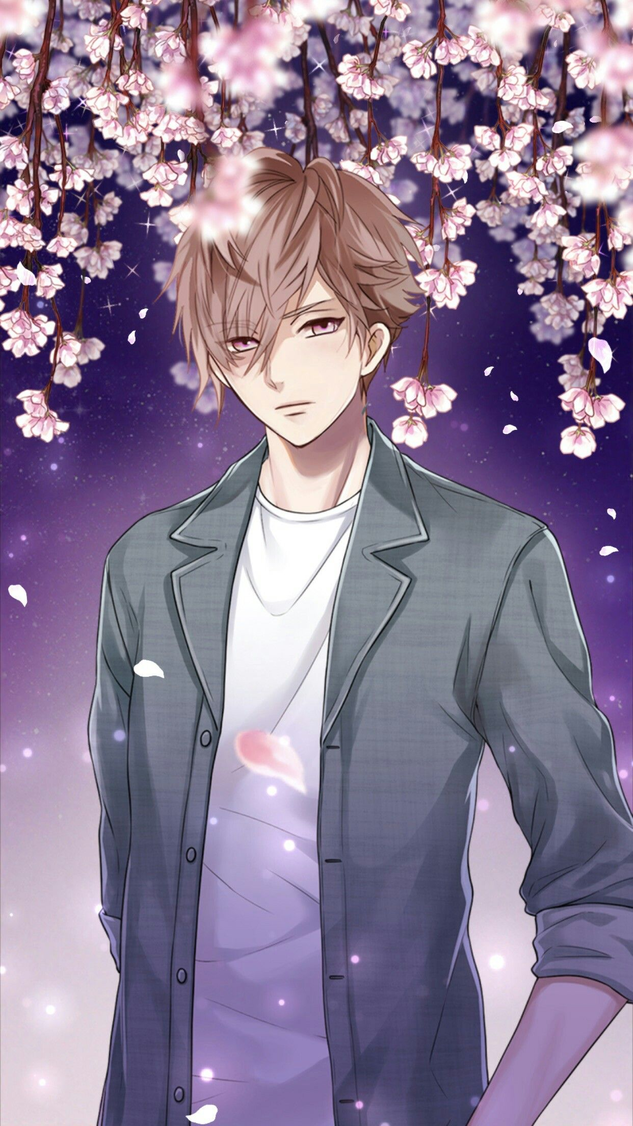 Anime stylish boy wallpaper