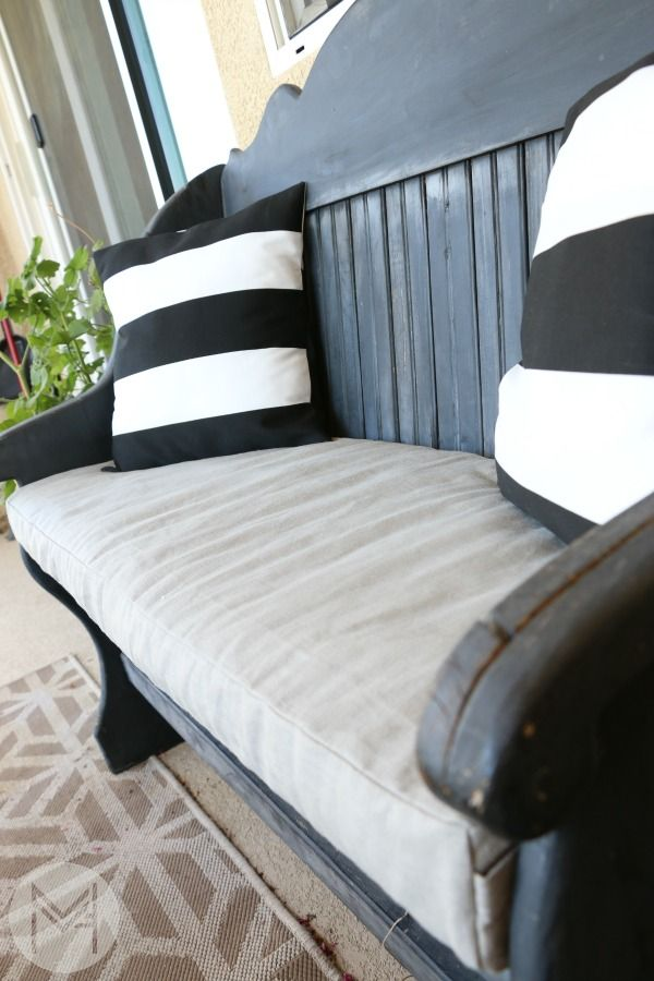 How To Sew A Washable Bench Cushion In 2 Hours With Images