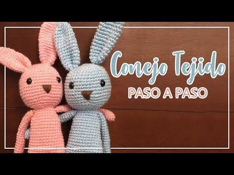 Amigurumis Conejos Paso A Paso : Amigurumis conejos patrones mejores imágenes de mis conejos