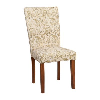 Kirklands Dining Chairs Patio Target Basil Paisley Parsons Chair Kitchen