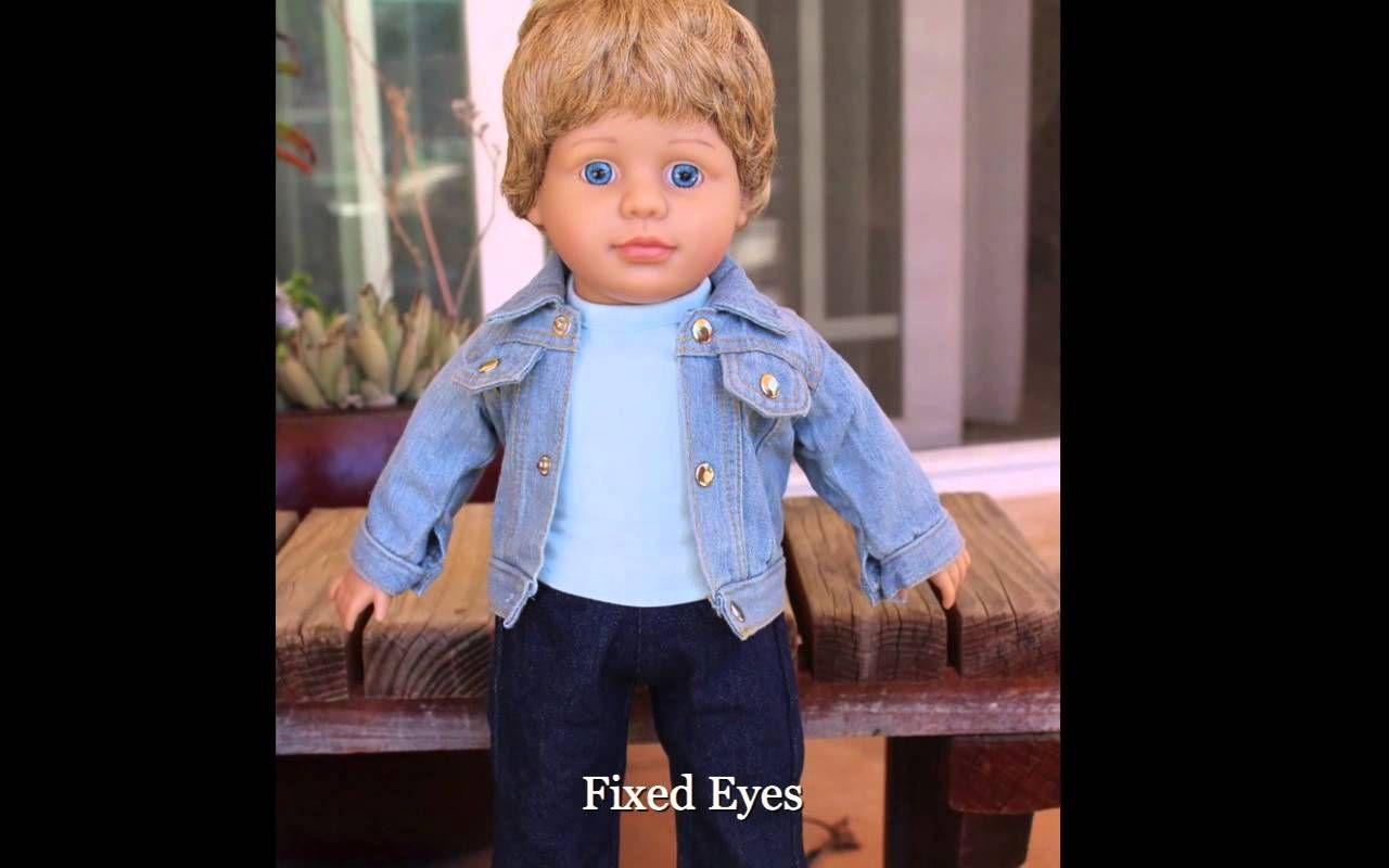 """American Girl Boy Dolls Meet Harmony Club Boy Dolls, 18 inch Dolls. Get an 18"""" Harmony Club Boy Doll at http://www.harmonyclubdolls.com"""