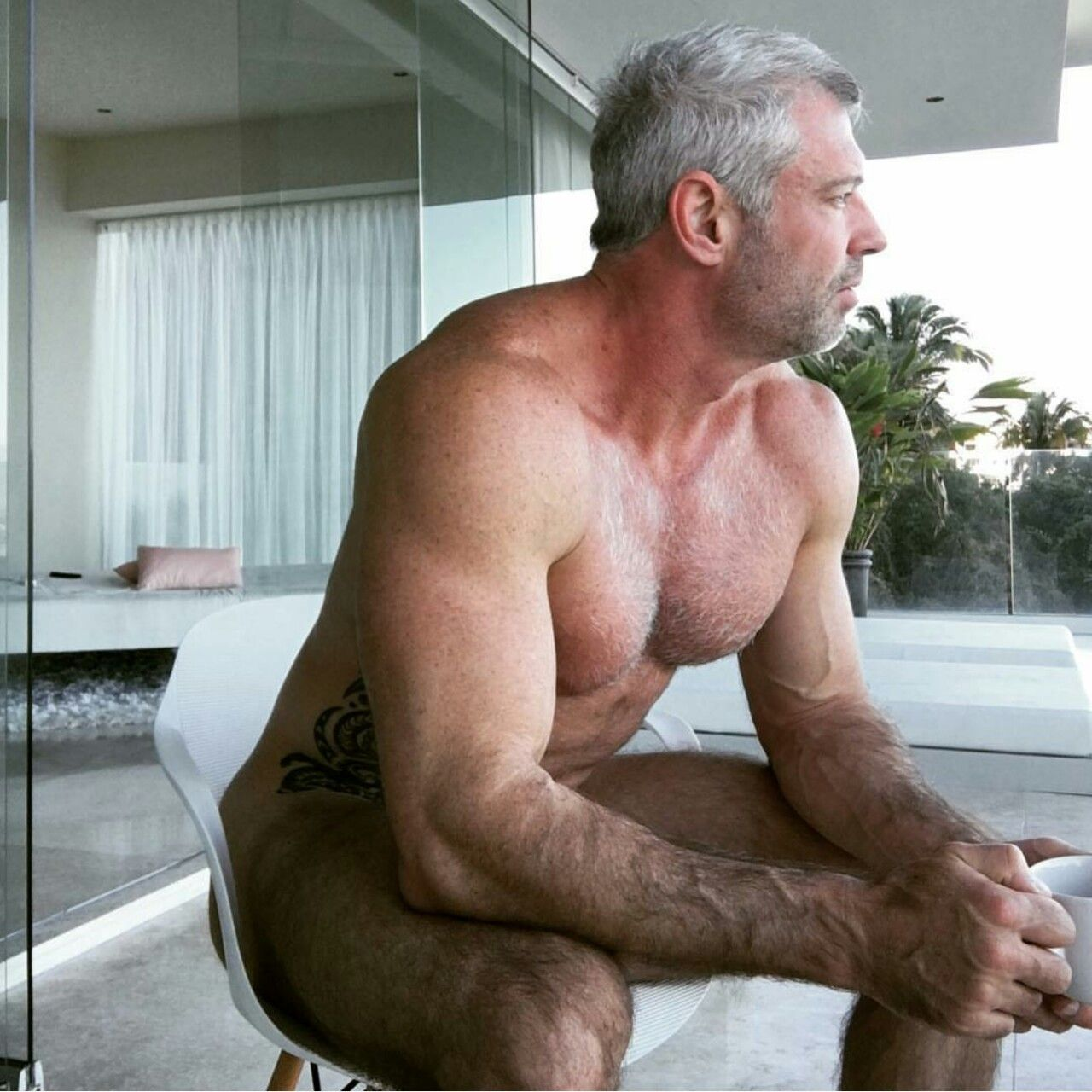 Mature man naked blog