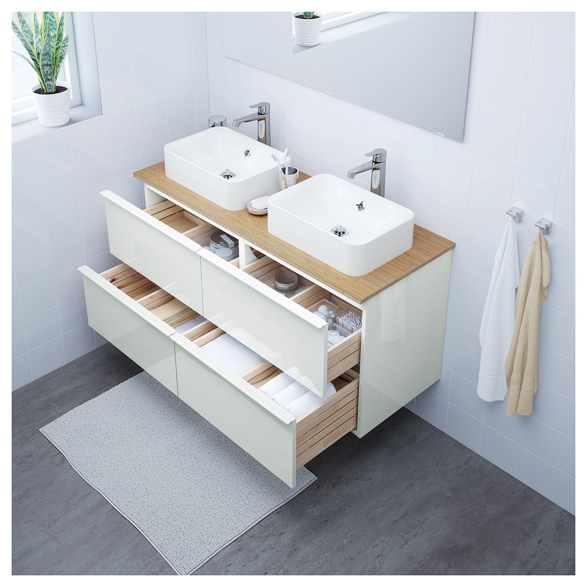 Mobel Einrichtungsideen Fur Dein Zuhause Ikea Godmorgon Badezimmerwaschtisch Mischbatterien