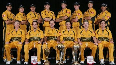 Ricky And Australian Cricket Team Hd Wallpaper Cricket Teams Cricket World Cup