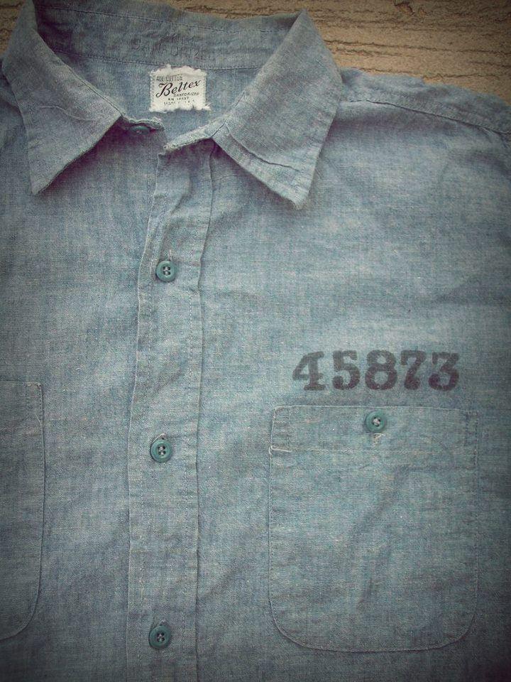 50's Prison Chambray Shirt