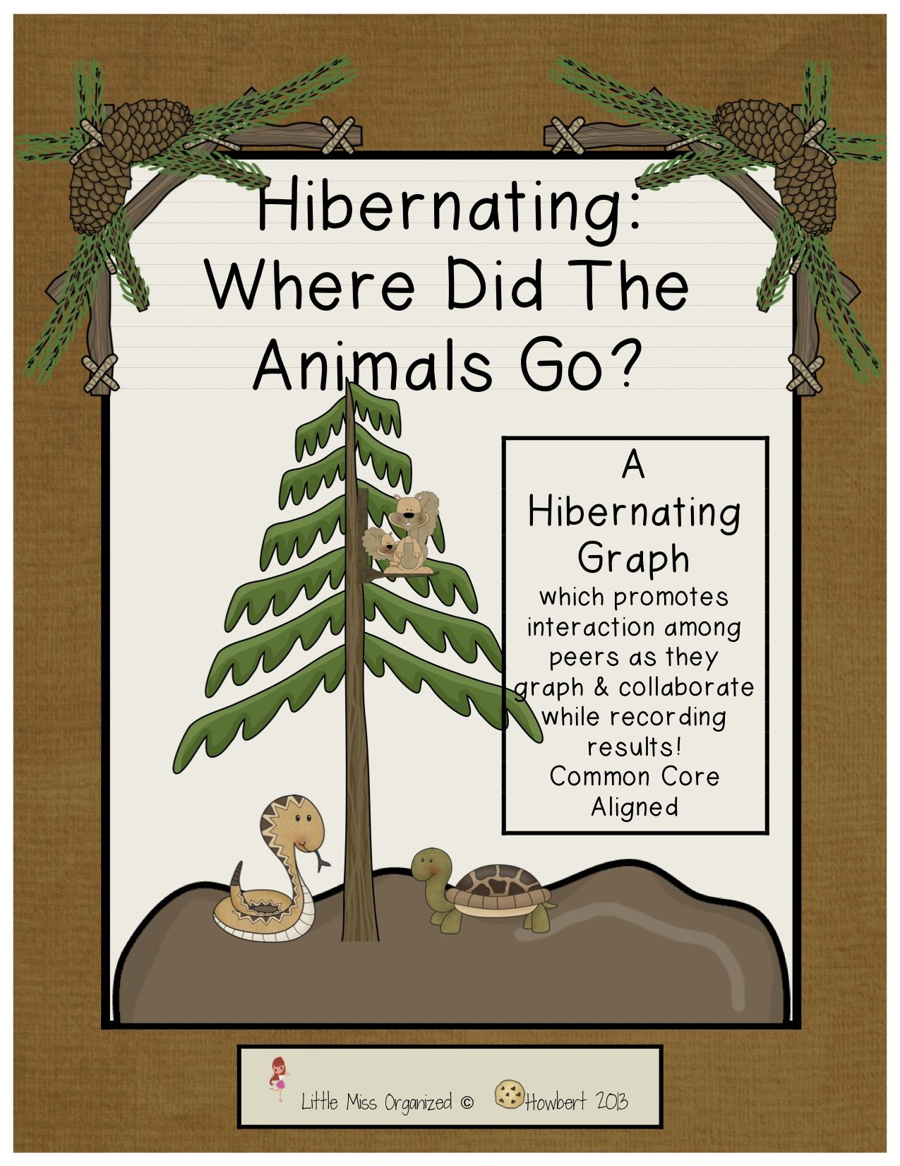 Graphing Hibernating Animals Unit