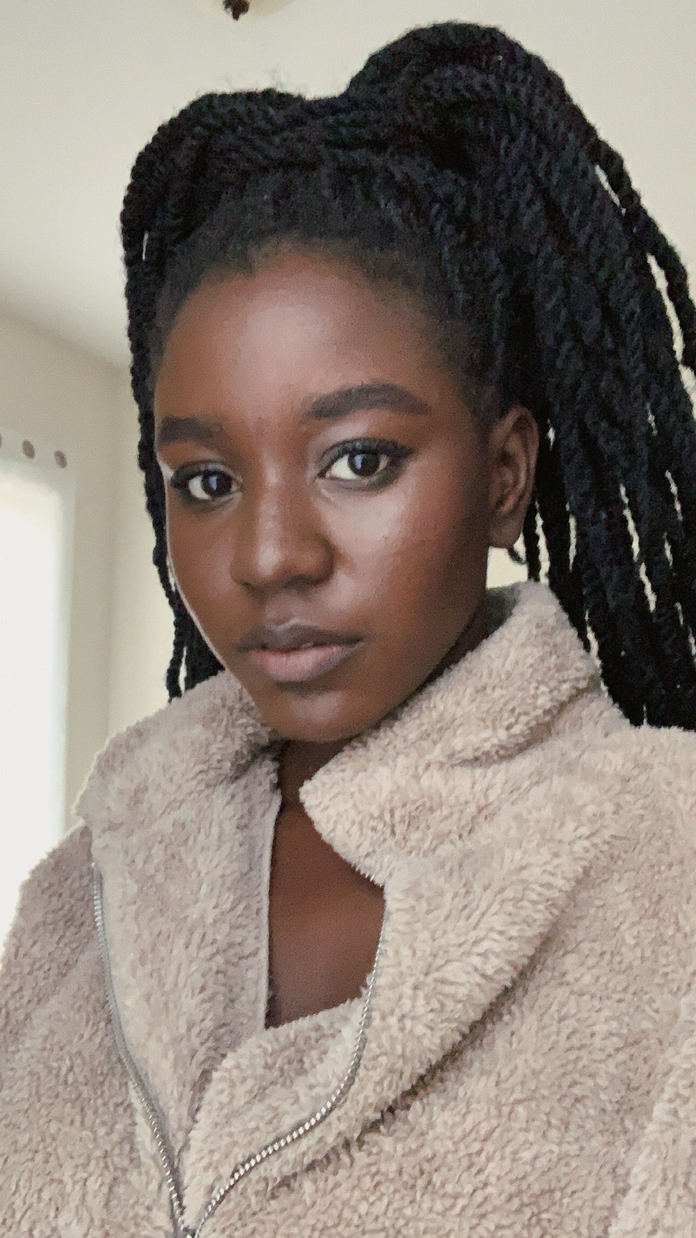 Dark skin black girl makeup in 2020 Everyday makeup