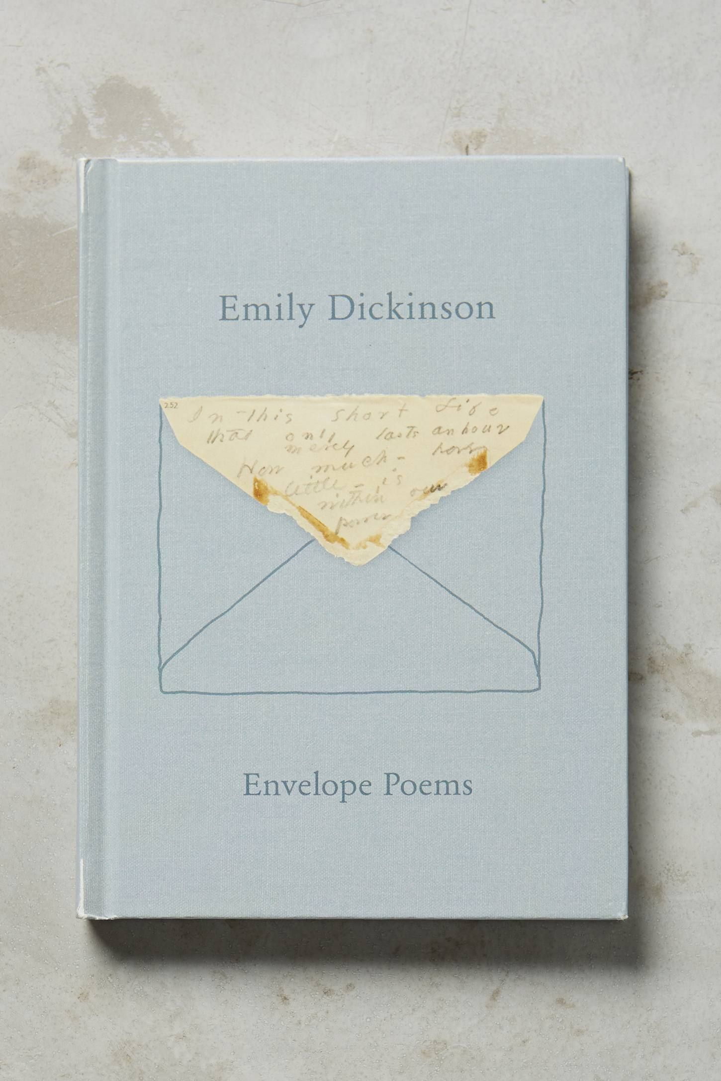The Gorgeous Nothings Emily Dickinsons Envelope Poems