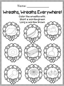Delightful December Printables for 1st-2nd Grade~ Math and