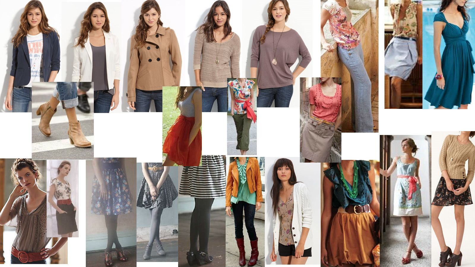 A compilation of Nordstrom Rack and Anthropologie. LOVE