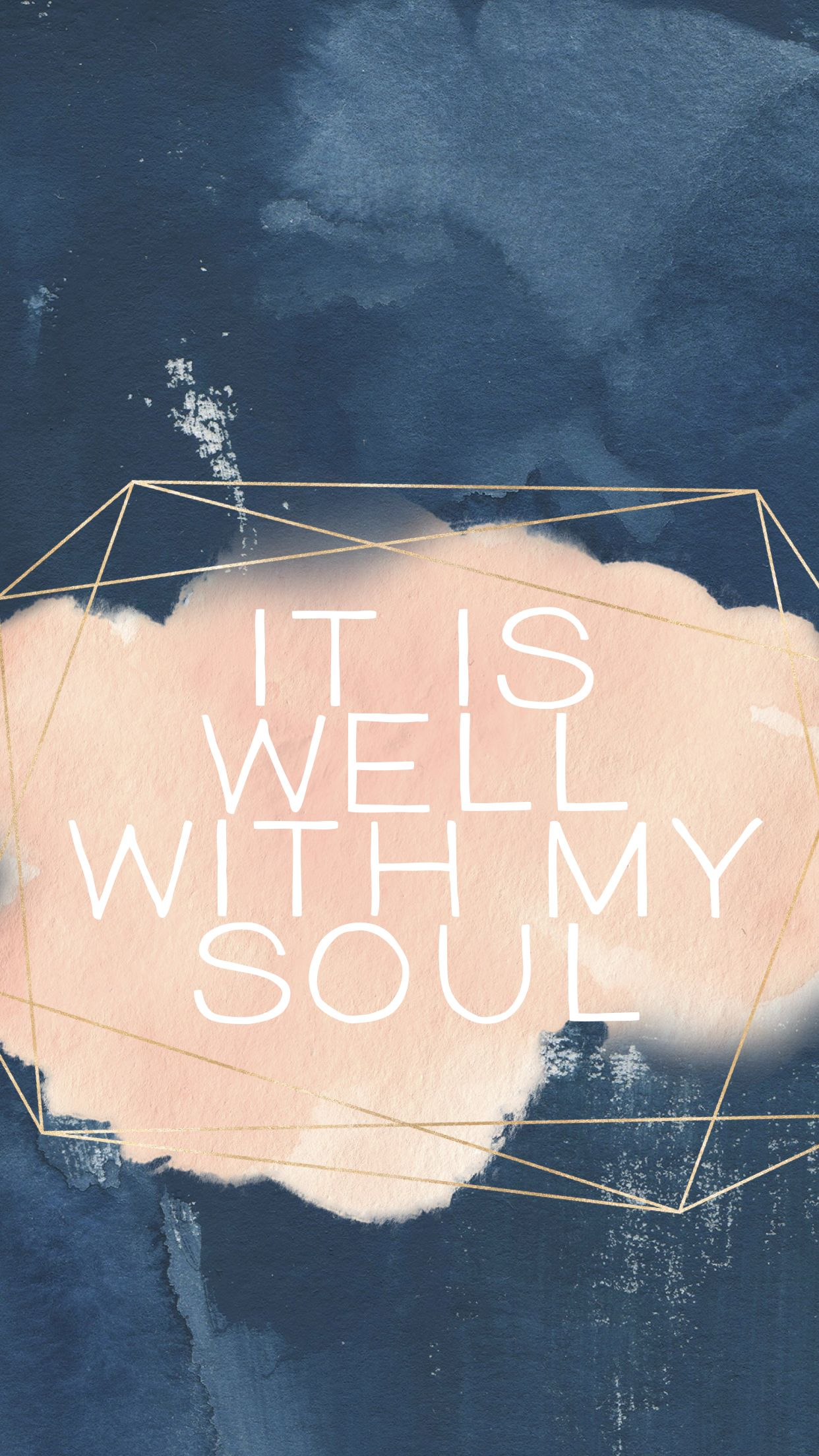 It is well with my soul iphone wallpaper little bit of - Bible verse background iphone ...