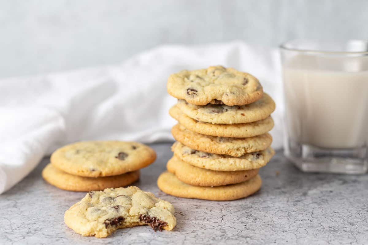 Chocolate Chip Cookies Without Brown Sugar Recipe Cookies Without Brown Sugar Cookies Recipes Chocolate Chip Easy Chocolate Chip Cookies