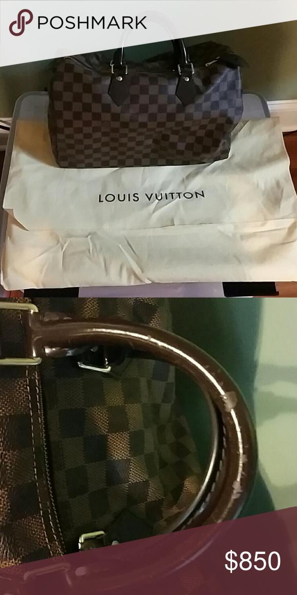 Louis Vuitton Speedy 40 Damier Ebene