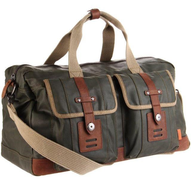 Mens Fossil Weekender Bag