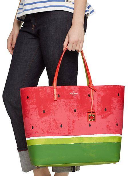 Make A Splash Len Watermelon Bag By Kate Spade