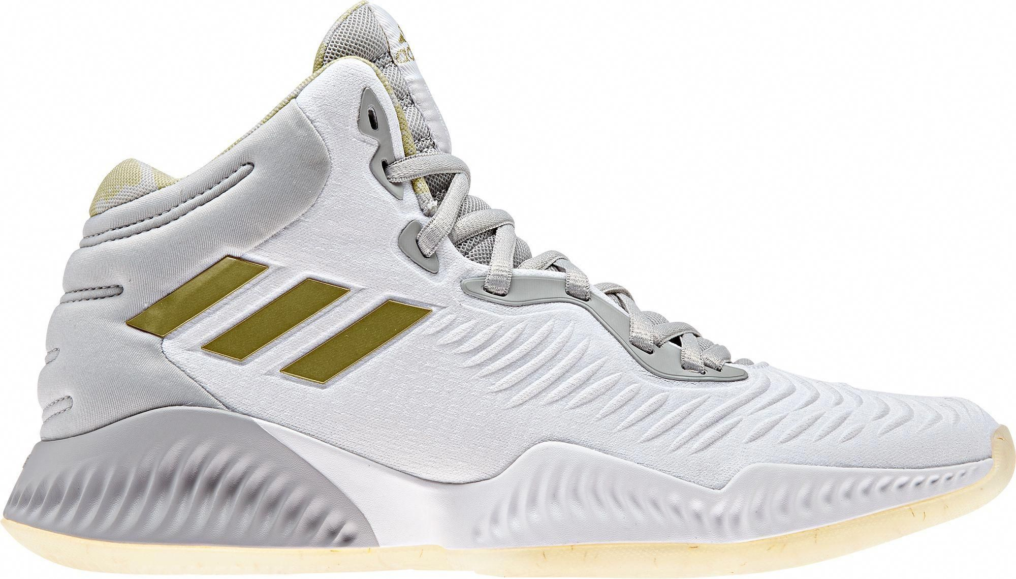 size 40 62aaf b2eac adidas Mens Mad Bounce 2018 Basketball Shoes, White Promshoes