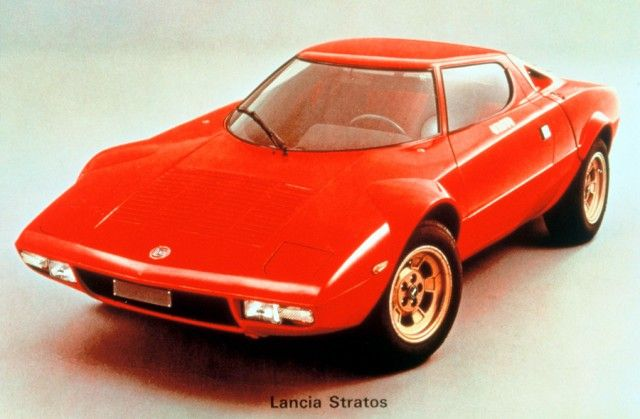The design work of Marcello Gandini...who did the Lancia Stratos....one of my all time fav's