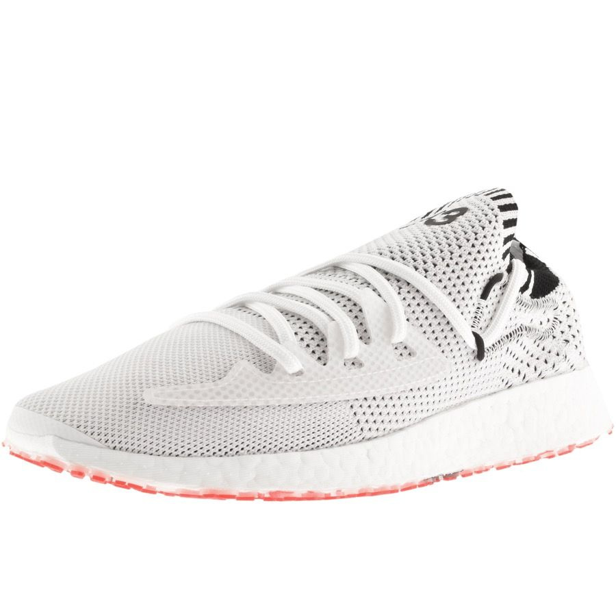 Y-3 RAITO RACER TRAINERS WHITE. #y-3