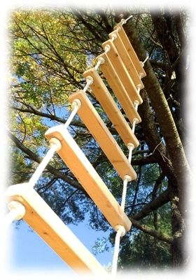 Rope Ladders 12 Foot Rope Ladder From Treehouse Supplies Tree House Playground Tree House Designs Tree House