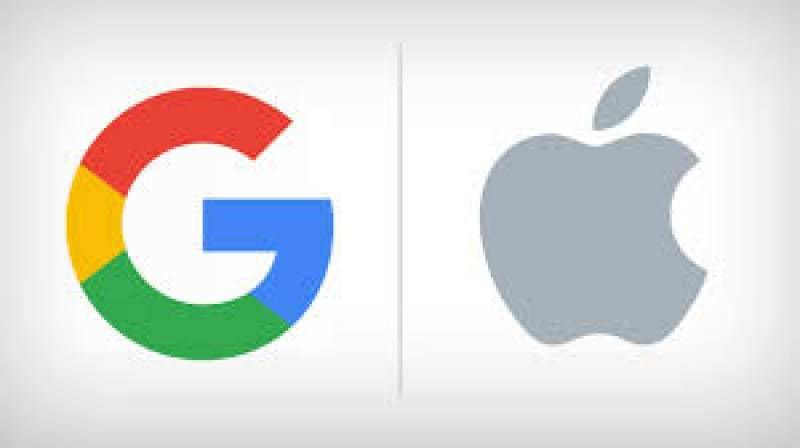تتعاون كل من آبل وجوجل في العمل على تصميم تطبيق للحد من انتشار فيروس كورونا Company Logo Tech Company Logos Vimeo Logo