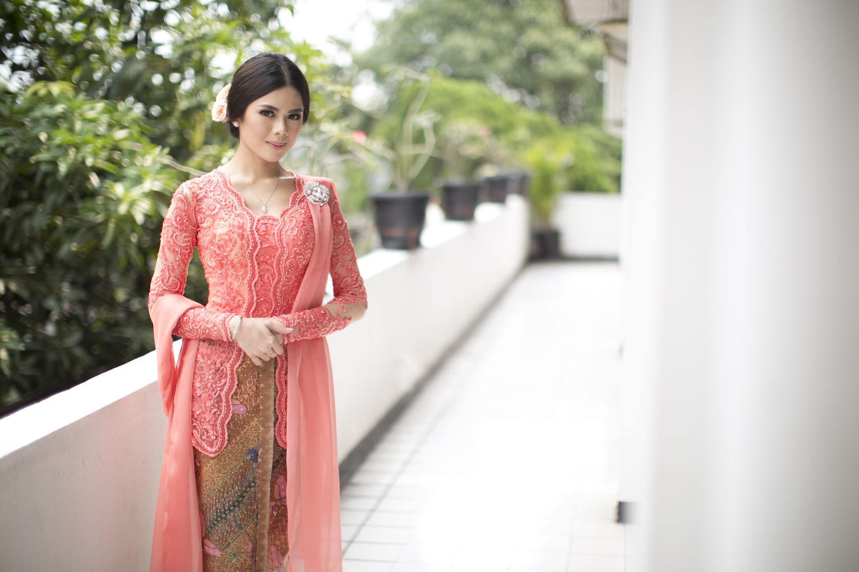 Classic Kebaya For Intimate Martumpol Ceremony Of Gaby And David