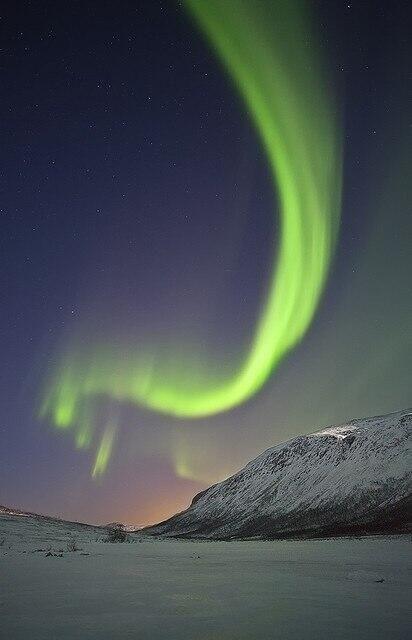 #Aurora en #Finlandia