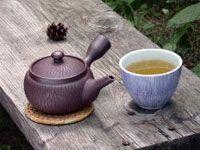Kyusu japanese teapot.