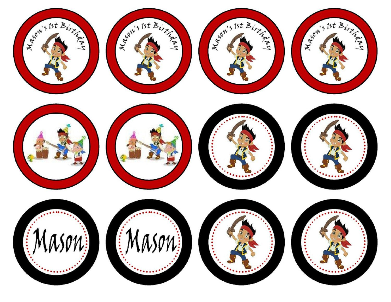 jake and the neverland pirates printables jake and the neverland