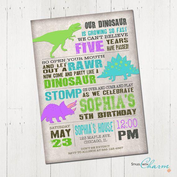 girl dinosaur invitation dinosaur birthday invitation girl dino