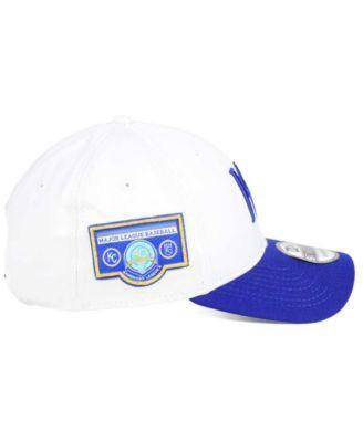 a8fe517a New Era Kansas City Royals Coop Banner Patch 9TWENTY Strapback Cap ...