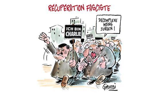 Pegida Paris Charlie Hebdo Karikaturen