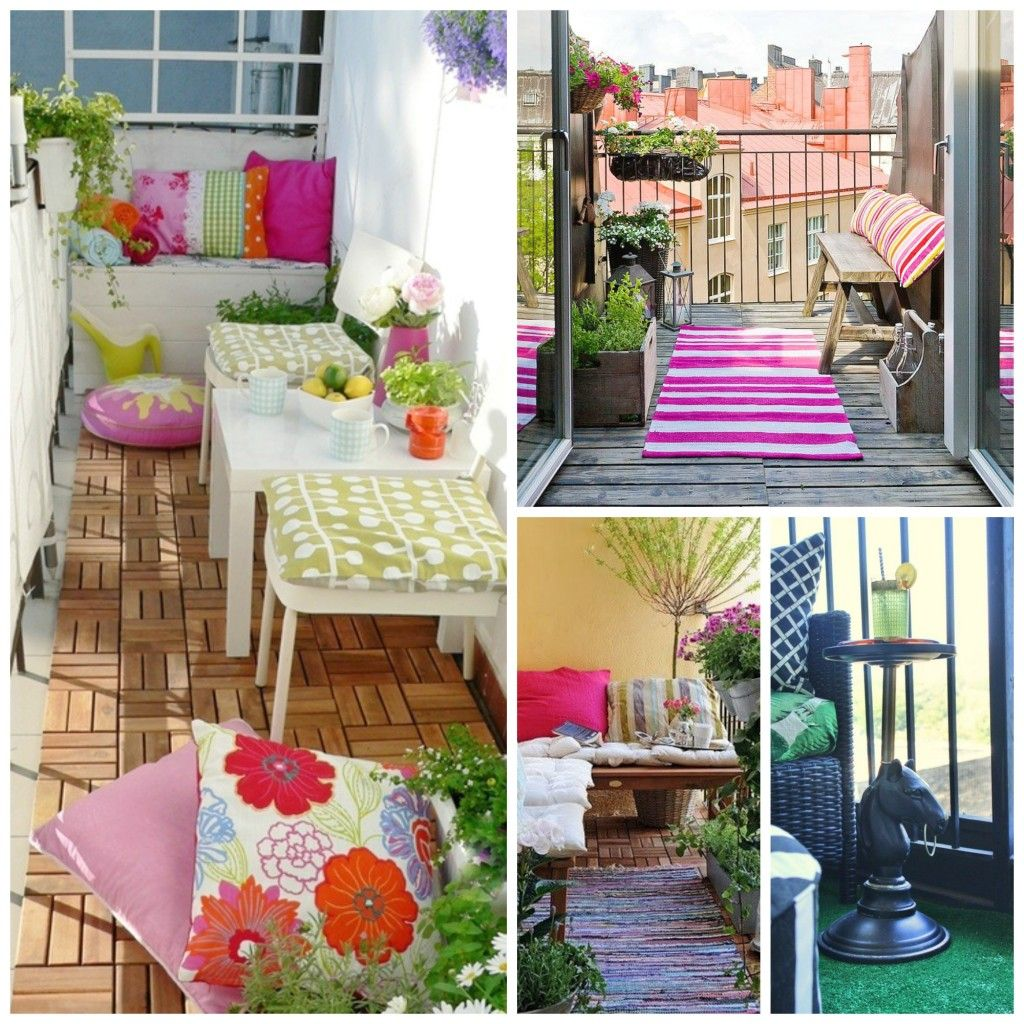 Decorar balcones y terrazas peque as home pinterest for Decoracion terrazas pequenas