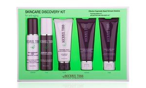 Groupon - Michael Todd True Organics Anti-Aging Skincare Discovery Collection in Online Deal. Groupon deal price: $24.99