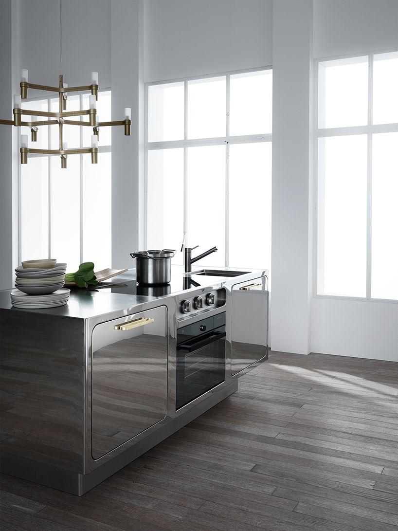 Sedie Alte Da Bar Design alberto torsello's mirror-finish design for the abimis ego