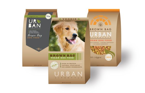Brown Bag Dog Food Package Design By Hailey Mckee Via Behance