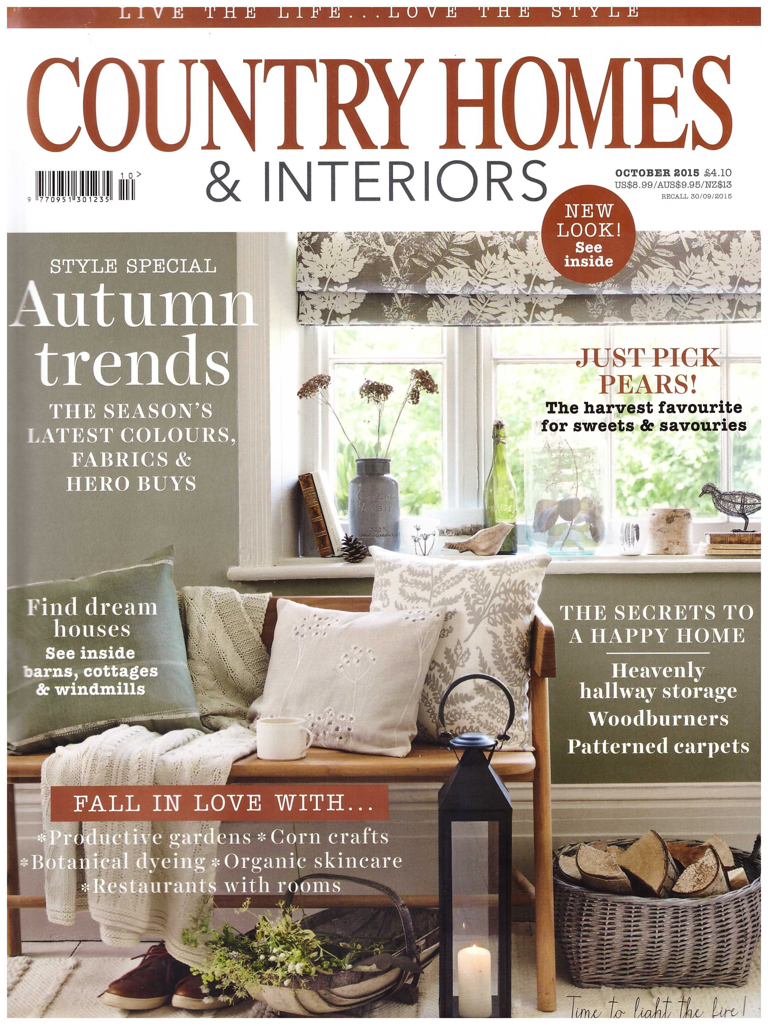 country homes and interiors a british magazine which is my big