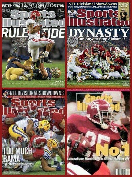 Sports Illustrated Covers Http Careers Ua Edu Alabama Crimson Tide Football Alabama Football Roll Tide Crimson Tide Football