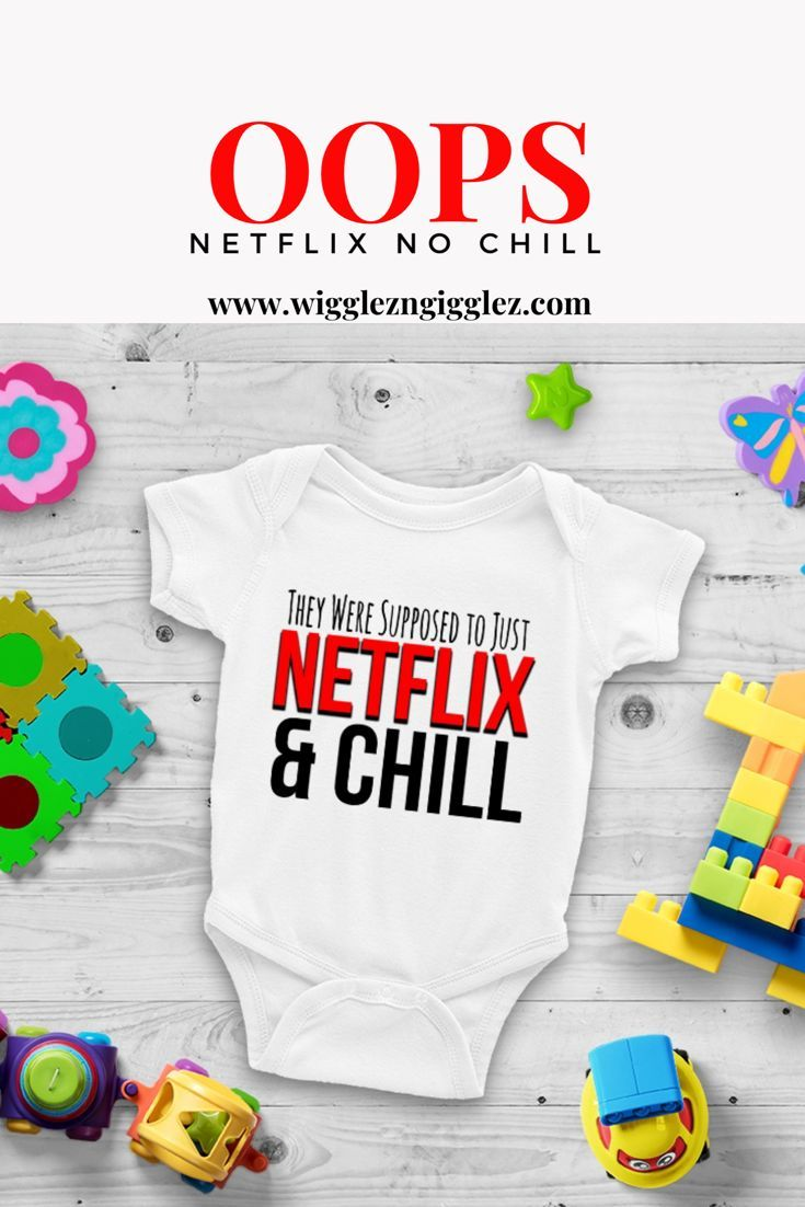 When busy moms need to grab a quick outfit for their baby but still want them to be cute without a lot of prep work, our onesie's® do the job. With cute, adorable, funny sayings that bring out your little one's personality.    This They Were Supposed To Just Netflix and Chill Cute Funny Unisex Baby  Onesie® - Great Baby Shower Gift for New Parents. #netflixandchill #babyonesie #baby #netflix #cuteonesie #babyclothes #cutebabyclothes