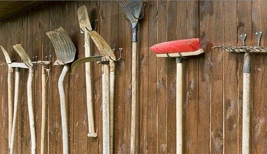 Gartengeräte Aufbewahrung - Google-suche | Gartenhütte | Pinterest ... Aufbewahrung Gartengerate Ideen