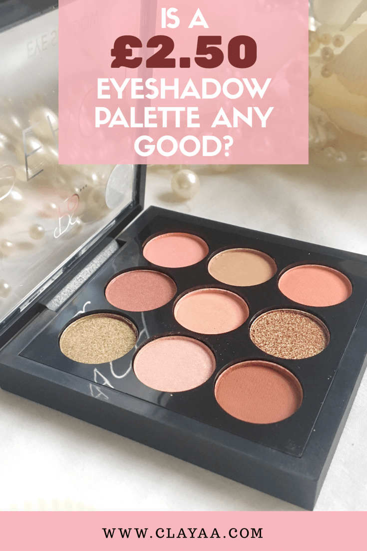 Is A 2 50 Primark Peach Eyeshadow Palette Any Good Peach Eyeshadow Primark Makeup Eyeshadow