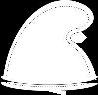 Comment fabriquer un bonnet de schtroumf how to make a smurf hat d guisement pinterest - Fabriquer un chapeau de pirate ...