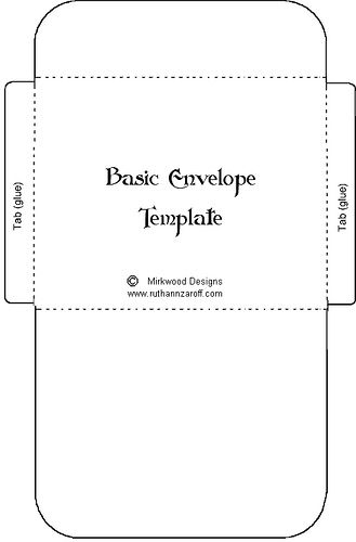 Basiccard Birthday Card Printable Envelope Template Printable Templates Printable Free