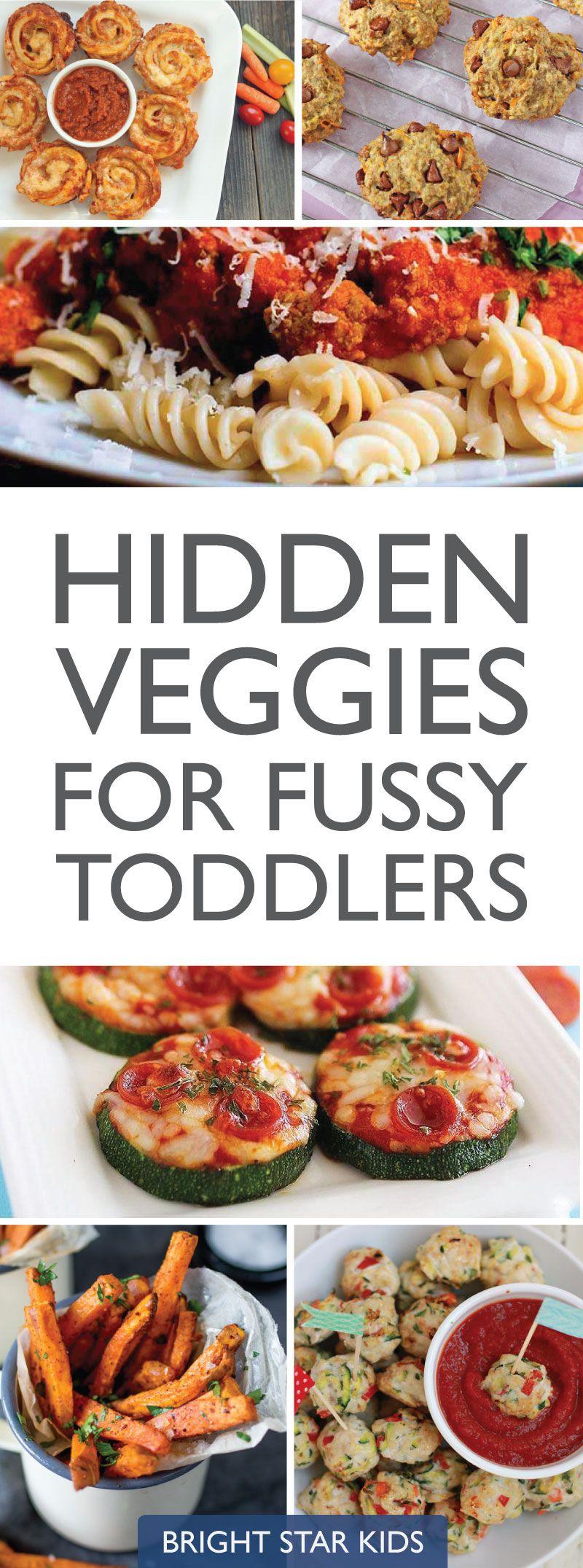 Hidden Veggies Recipes for Fussy Toddlers | Food Ideas | Toddler meals, Vegetarian kids, Kids meals